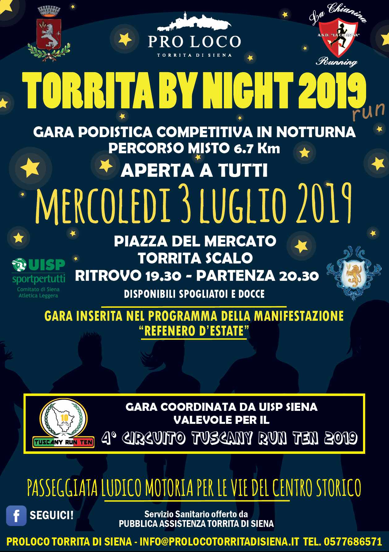 TORRITA BY NIGHT 2019 @ TORRITA DI SIENA ZONA STADIO